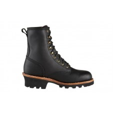"Chippewa 73020 - Men's - 8"" Logger EH Steel Toe - Black Oiled"