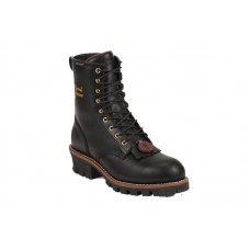 Chippewa 73050 - Men's - Waterproof Insulated 8 Inch Black Oiled Steel Toe EH Logger