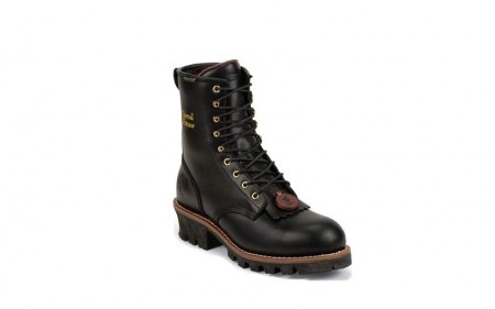 Chippewa L73050 - Women's - 8 Inch Black Oiled Waterproof Insulated Steel Toe EH Logger