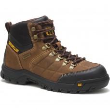 Caterpillar P74128 - Men's - Threshold Waterproof Soft Toe - Real Brown