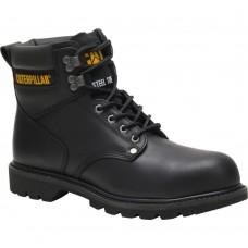 Caterpillar P89135 - Men's - Second Shift Steel Toe - Black