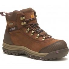 """Caterpillar P90760 - Women's - 6"""" Ally Waterproof Composite Toe - Brown"""