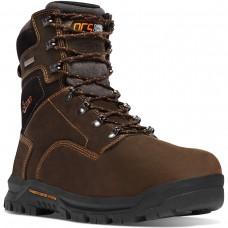 "Danner 12447 - Men's - 8"" Crafter 600G Insulation Composite Toe - Brown"