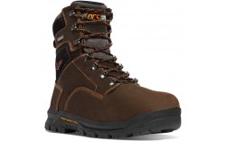 "Danner 12447 - Men's - 8"" Crafter 600G Insulation Composite Toe - Brown"