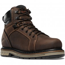 "Danner 12530 - Men's - 6"" Steel Yard Steel Toe Hot - Brown"
