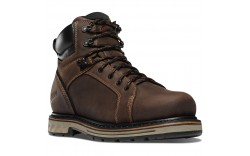 "Danner 12530 - Men's - 6"" Steel Yard Steel Toe Hot - Brown"