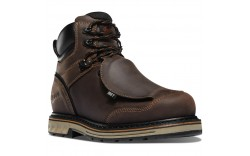 "Danner 12532 - Men's - 6"" Steel Yard Steel Toe Met Guard - Brown"