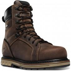"""Danner 12534 - Men's - 8"""" Steel Yard Steel Toe - Brown"""