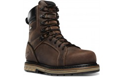 "Danner 12534 - Men's - 8"" Steel Yard Steel Toe - Brown"