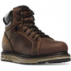 """Danner 12537 - Men's - 6"""" Steel Yard Steel Toe Wedge - Brown"""