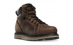 "Danner 12538 - Men's - 6"" Steel Yard Steel Toe Wedge - Brown"