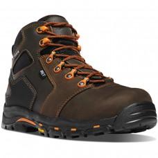 "Danner 13855 - Men's - 4.5"" Vicious Met Guard Composite Toe - Brown/Orange"