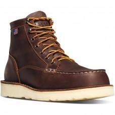 """Danner 15564 - Men's - 6"""" Bull Run Moc Toe Steel Toe - Brown"""