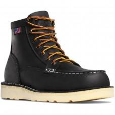 "Danner 15569 - Men's - 6"" Bull Run Moc Steel Toe - Black"