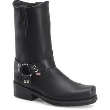 Double H 4008 - Men's - 10 Inch Domestic Harness - Black