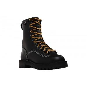 Danner 11550 - Men's - Super Rain Forest 8 Inch Black Non-Metallic Safety Toe
