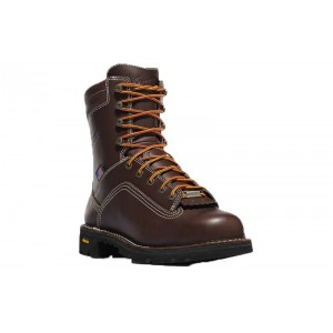 Danner 17307 - Men's - Quarry USA 8 Inch Brown Non-Metallic Safety Toe