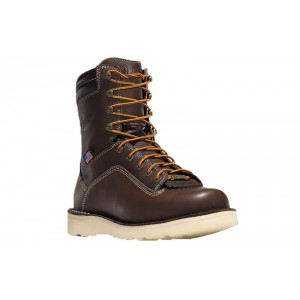 Danner 17327 - Men's - Quarry USA 8 Inch Brown Wedge