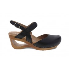 Dansko 3413-021500 - Women's - Taci - Black Waxy Calf