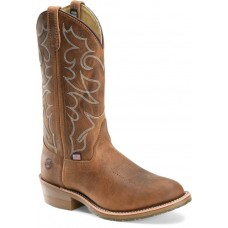 Double H DH1552 - Men's - 12 Inch Domestic Ice Work Western - Brown