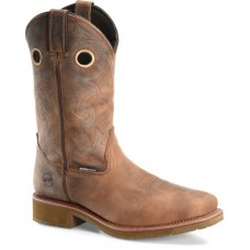 """Double H DH5246 - Men's - 12"""" Waterproof Composite Toe Wide Square Roper - Earthquake Rust"""