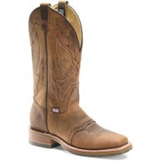 """Double H DH5314 - Women's - 12"""" Domestic Wide Square Toe - Oldtown Folklore"""