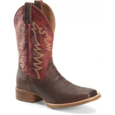"""Double H DH6017 - Men's - 11"""" Clifton Wide Square Toe Roper - Red Brown"""