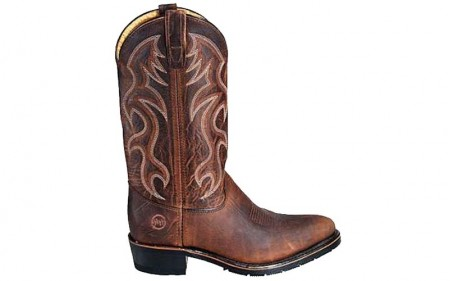 Double H 2282 - Men's - 12 Inch Domestic AG7 Work Western - Light Brown