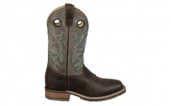 Double H DH3575 - Men's - 12 Inch ICE Chocolate Bison Wide Square Toe