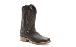 "Double H DH4638 - Men's - 11"" Wide Square Toe Roper - Chocolate Elk"