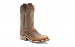 "Double H DH4640 - Men's - 11"" Domestic U-Toe Roper - Old Town Folklore"