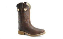 "Double H DH5245 - Men's - 12"" Composite Toe Wide Square Roper - Brown"