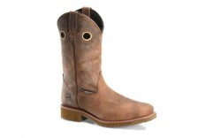 "Double H DH5246 - Men's - 12"" Waterproof Composite Toe Wide Square Roper - Earthquake Rust"