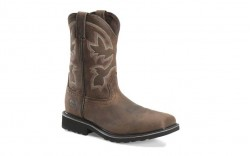 "Double H DH5247 - Men's - 10"" Composite Toe Wide Square Toe Roper - Soft Brown"