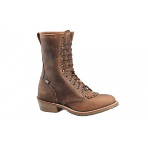 """Double H DH3605 - Men's - 10"""" Noell Domestic I.C.E. Packer - Brown"""