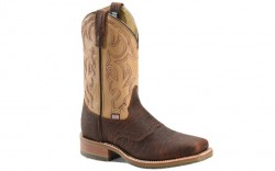 "Double H DH4305 - Men's - 11"" Graham Wide Square Toe I.C.E. Roper - Brown"