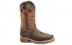 "Double H DH4353 - Men's - 12"" Abner Waterproof Wide Square Toe Roper - Brown"