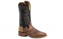 "Double H DH4644 - Men's - 12"" Grissom Wide Square Toe I.C.E Roper - Brown"