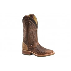 "Double H DH4645 - Men's - 12"" Harshaw Wide Square Toe I.C.E Roper - Brown"