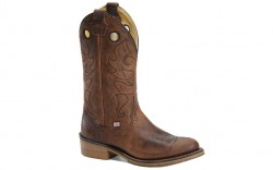 "Double H DH4646 - Men's - 12"" Kilgore R Toe I.C.E Westen - Brown"