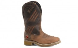 "Double H DH5354 - Men's - 13"" Kelton Waterproof Wide Square Composite Toe Roper - Brown"