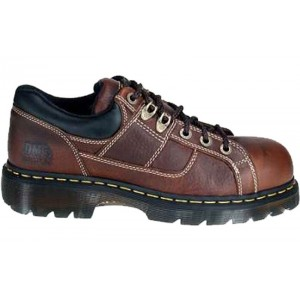 Dr. Martens R12728200 - Men's - Gunby Safety Toe Oxford Teak