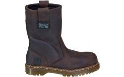 Dr. Martens R13160201 - Men's - 2295 Safety Toe 10-Inch Wellington Extra Wide Gaucho