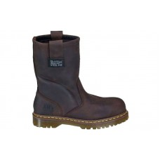 Dr. Martens R13160201 - Women's - 2295 Safety Toe 10-Inch Wellington Extra Wide Gaucho