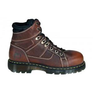 Dr. Martens R13400200 - Men's - Ironbridge Safety Toe 6-Inch Extra Wide Teak