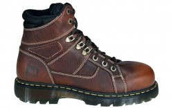 Dr. Martens R13400200 - Women's - Ironbridge Safety Toe 6-Inch Extra Wide Teak