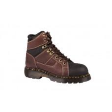 Dr. Martens R21678214 - Women's - Heritage Ironbridge TT ST 8 Tie Boot - Teak