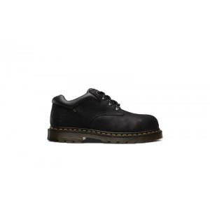 Dr Martens R23121001 - Men's - Hylow Steel Toe 4 Tie Shoe - Black