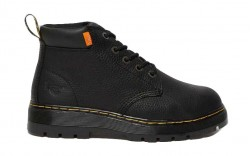 Dr. Martens R25992001 - Men's - Grader Internal Met Guard - Black