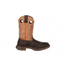 "Durango - Men's - DB019 Rebel 11"" Steel Toe Western - Brown/Tan"
